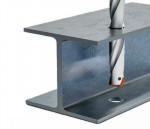 Boren in stalen balken met MAPAL QTD-Steel-Pyramid